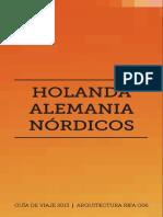 Urbanismo Holanda Alemania Nordicos
