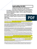Framework Answers Faciality