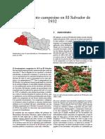 Levantamiento Campesino en El Salvador de 1932