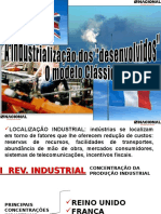 Industrialização Classica e Tardia