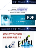 constitucion de empresas en bolivia