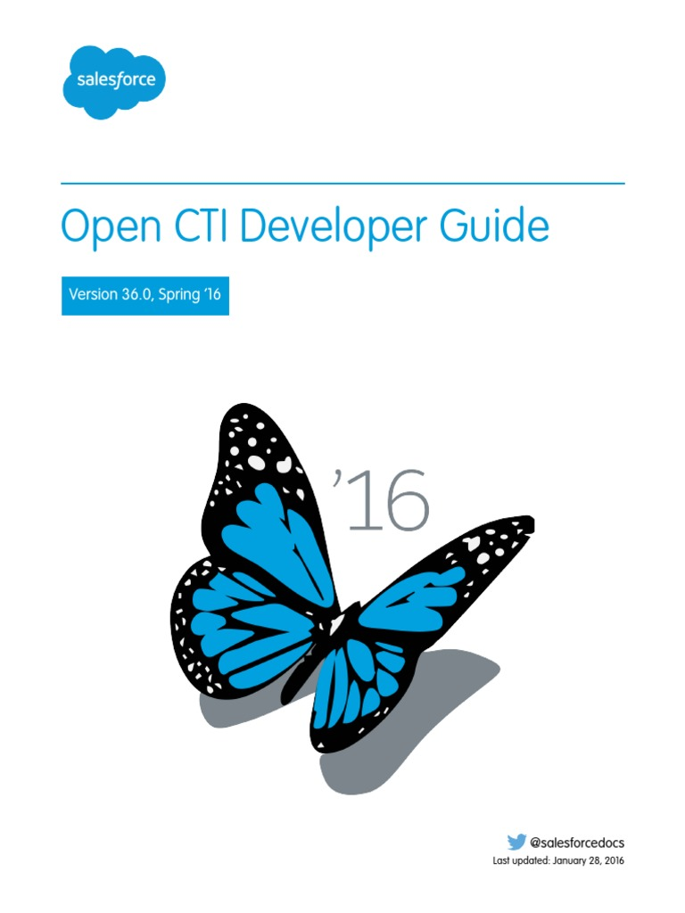 salesforce open cti developer guide java script salesforce com rh scribd com CTI Integration with Salesforce salesforce open cti developer guide