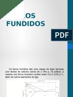 12 - FERROS FUNDIDOS