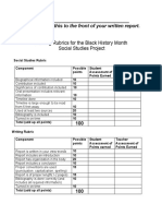 black-history-month-rubric
