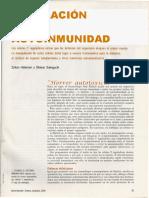 Regulacion de La Autoinmunidad