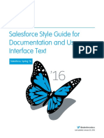Salesforce Pubs Style Guide