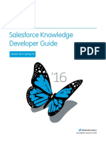 Salesforce Knowledge Dev Guide