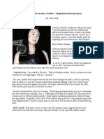 Gretchen Barretto on Sister Claudine