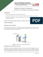 INTRODUCCION AL CONTROL AUTOMATICO DE SISTEMAS DINAMICOS.
