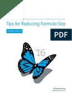 Salesforce Formula Size Tipsheet