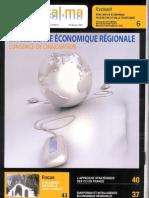Intelligence Economique et Développement Territorial In Oriental.ma