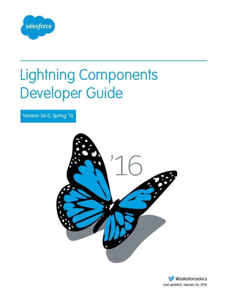 Lightning Component Developer Guide | Salesforce Com | Mobile App