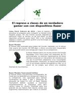 2016-0202 Razer Regreso a clases_Perú