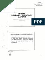 Materi Hukum Lembaga Pembiayaan
