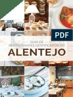 Guia de Restaurantes Certificados Do Alentejo - Outubro 2014