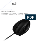 g600 Mmo Gaming Mouse Quickstart Guide