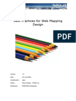 Web Mapping Design