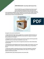 No-HP-0813-5743-1299-(Telkomsel) | Cara Kerja Alat Penetas Telur Otomatis