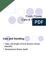 335 J Fresh Flower Care Handling