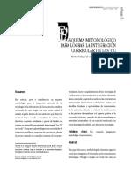 Articulo. Esquema Metodologico Integracion de Las TIC Al Curriculum