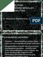 (3) MENYUSUN RUMUSAN MASALAH DAN TUJUAN PENELITIAN.pptx