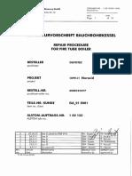 Procedimiento Reparacion Tubo-placatubular