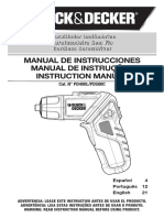 manual black&decker Pd400l Pd500c