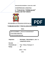"""""""Año de La Consolidación Económica y Social Del Perú"""""""