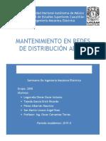 Mantenimiento en Redes de Distribucion Aerea1