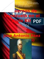 Gobiernos de Venezuela. Siglo XIX. Eje Sociocritico