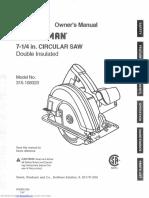 Circular Saw Manual