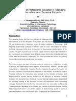 Present Status of Professional Education (1)