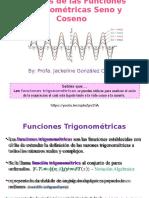 Graficas de Las Funciones Trigonométricas Seno y Coseno