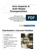 Logistics Aspects &Multi-Modal Transportation