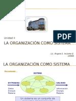 La Organización Como Un Sistema