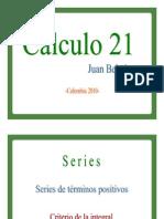 Criterio de la integral para determinar si una serie es convergente o divergente