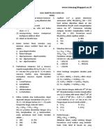 2015 - Soal Sbmptn Kimia 2015 Kode 501_su