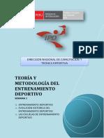2 Teoria y Metodologia Del Entrenamiento Deportivo - Semana 1 - g10