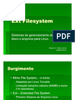 Ext Filesystems - Sistemas de Arquivo EXT para Linux