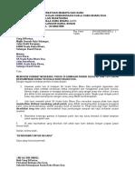 Surat Memohon Khidmat Tebang Pokok 2016
