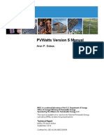 PVWatts Version 5 Manual