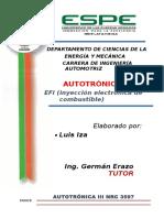 LUIS IZA EFI Inyección Electrónica de Combustible