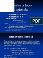 Anestezia loco-regionala
