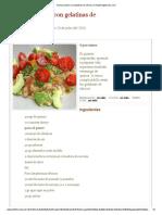 Quinoa Al Pesto Con Gelatinas de Cítricos en HazteVegetariano
