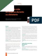 calidad de Vida en Mujeres Climaterio