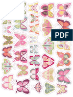 Printable Buterfly