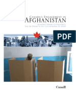 Afghanistan Progress Report to Canadian Parliament 2009