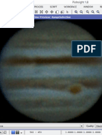 Measuring the Size of Jupiter's Great Red Spot From Your Backyard