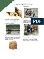 Aral Pan (Kontribusyon Ng Mga Sumerian)