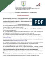 Edital Serra - Guarda Civil - Atualizado